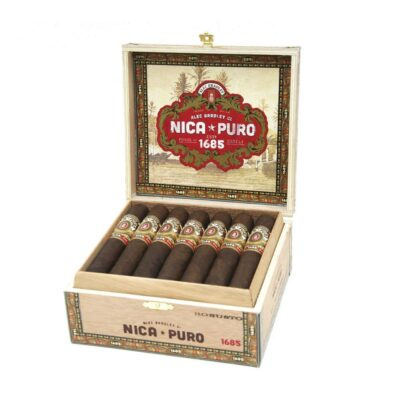 Alec Bradley Nica Puro 1685 Robusto Box Of 20
