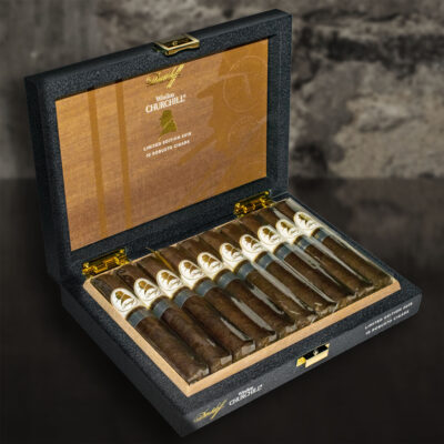 Davidoff Winston Churchill The Traveller Limited Edition 2019 Box Of 10 2