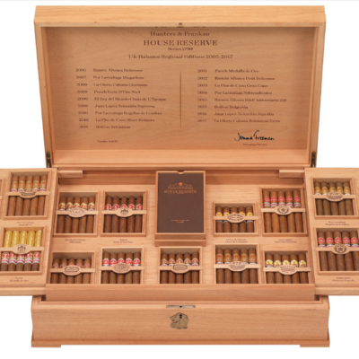 Hunters Frankau House Reserve Series 1790 Collection Number 1 Humidor