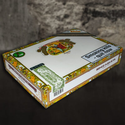 Romeo Y Julieta Tacos Edicion Limitada 2018 Box Of 25