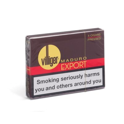 Villiger Export Pressed Maduro Pack Of 5 Pack