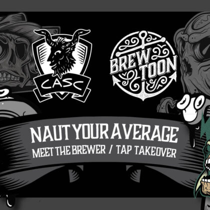 CASC Brew Toon Tap Takeover
