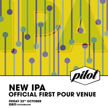 IPA First Pour Venue Insta Post