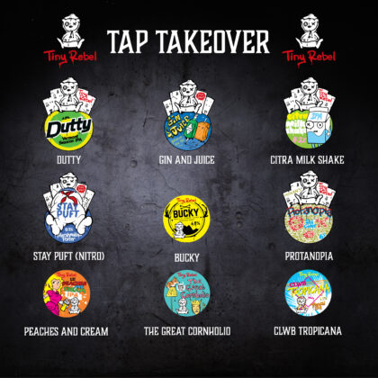 Tiny Rebel Tap Takeover
