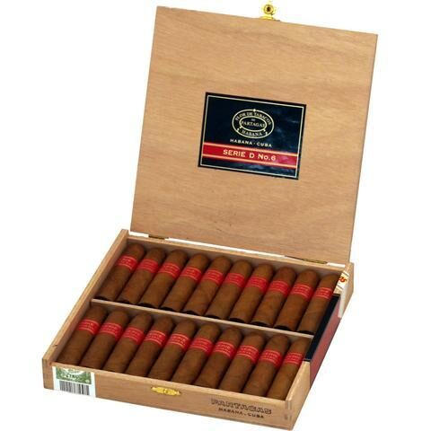 Partagas Serie D No 6 Sbn Box Of 20