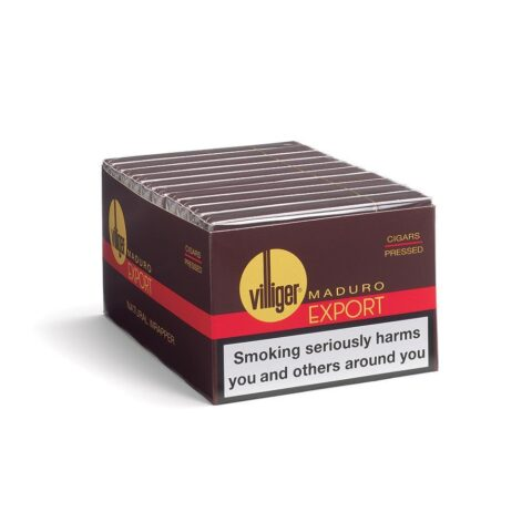 Villiger Export Pressed Maduro Pack Of 5