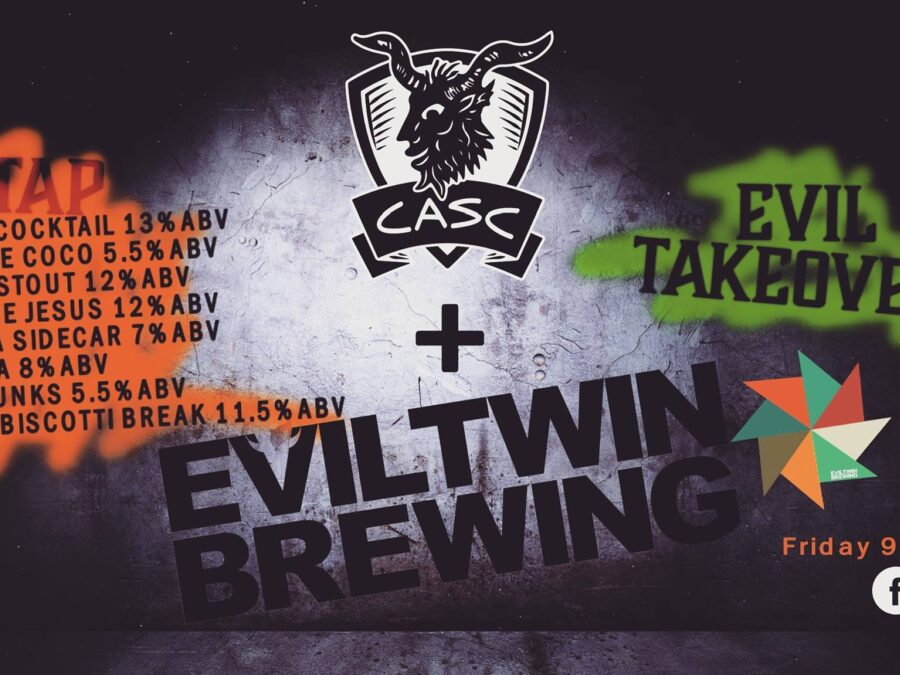 Evil Twin Brewery Tap Takeover